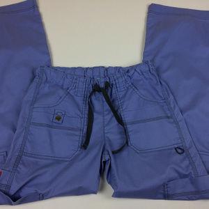 Dickies Women's Purple Drawstring Cargo Pants Sz M